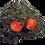 Thumbnail: Boucle d'oreille clou graines d'église