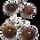 Thumbnail: Boucle d'oreille clou en tamarin