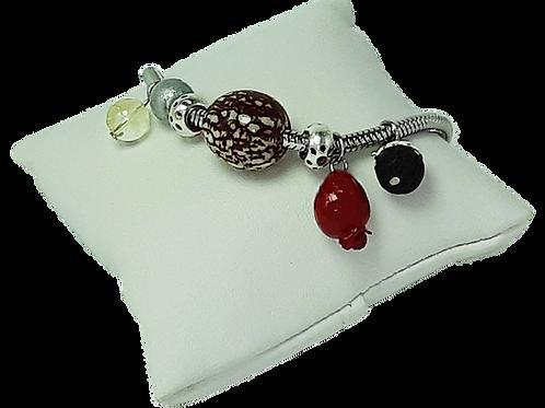 Bracelet plusieurs pendentifs