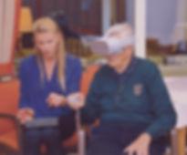 Senior VR Pflege Granny Vision