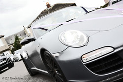 Porsche Carrera at a Leeds wedding, West Yorkshire