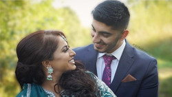 Sheffield bride and groom couple looking at each other with a look of love and laughing