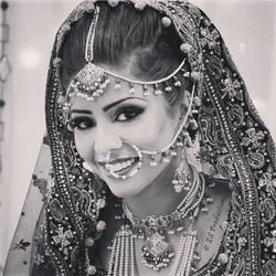 Sometimes the best thing a bride can wear..._..