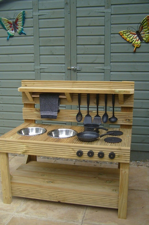 Wooden Mud Kitchen