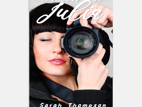'The Love of Julia' by Sarah Thompson cover reveal!