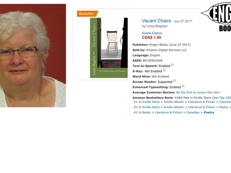 'VACANT CHAIRS' BY LINDA BLAGDON BECOMES #1 BESTSELLER!