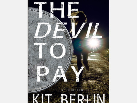 Cover reveal: 'THE DEVIL TO PAY' by Kit Berlin!