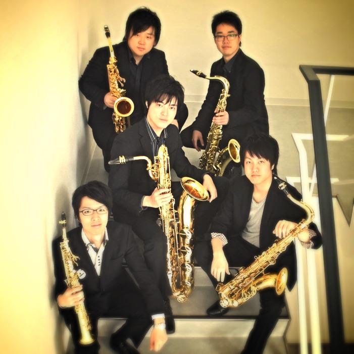 """Saxophone Quintet """"FIVE by FIVE"""""""