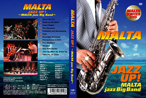 DVD - 「JAZZ UP ! MALTA jazz Big Band」