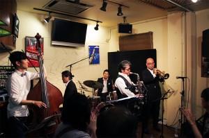 鳥取県倉吉市NO SIDE〜MALTA Jazzカルテット〜凄い熱気でした!