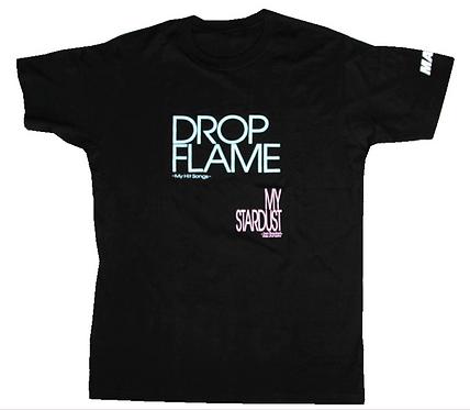DROPFLAME&MY STARDUST 発売記念Tシャツ(黒)