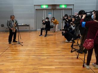 米子市芸術文化振興緊急支援事業急遽記者会見