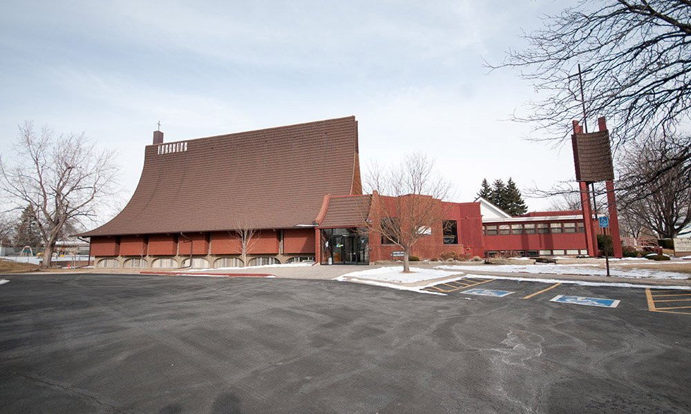 Exterior of Trinity Lutheran Church