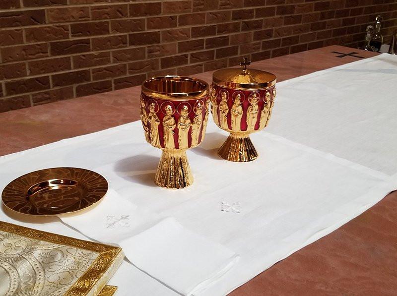 Holy Communion at Trinity Lutheran