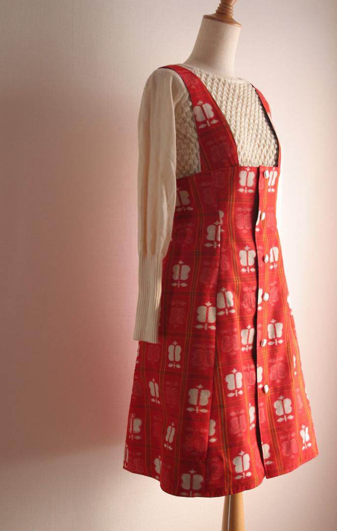 着物ジャンパースカート Kimono Jumper