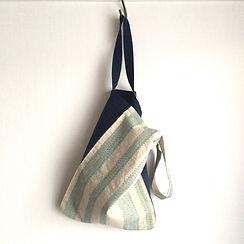 Upcycled Sashiko-Obi bag