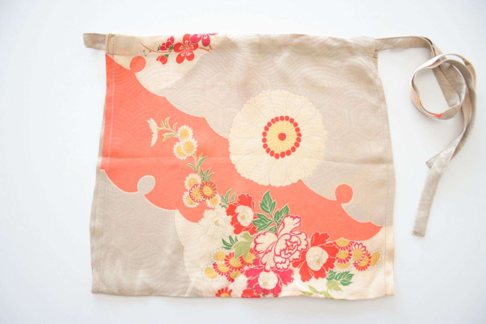 正絹の着物もっこふんどし Silk KIMONO Mokko Fundoshi