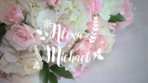Alexa & Michael Wedding