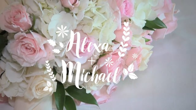 Alexa & Michael Wedding