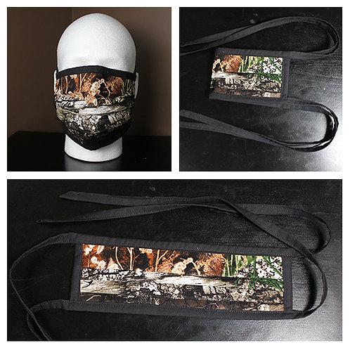 Face Mask Realtree Print