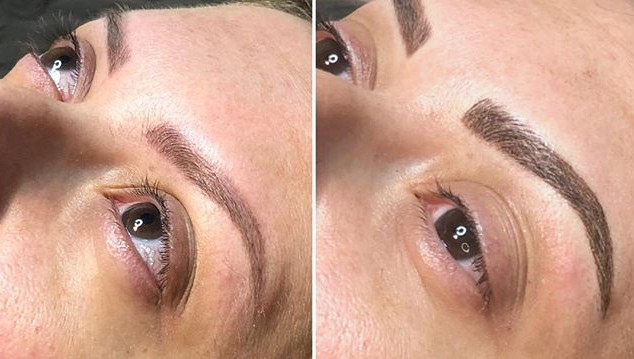 You can have beautiful eyebrows in 3 ste