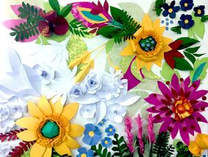פרחי נייר