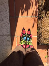 מגפיים רקומות