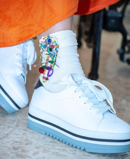 גרביים מעוטרות