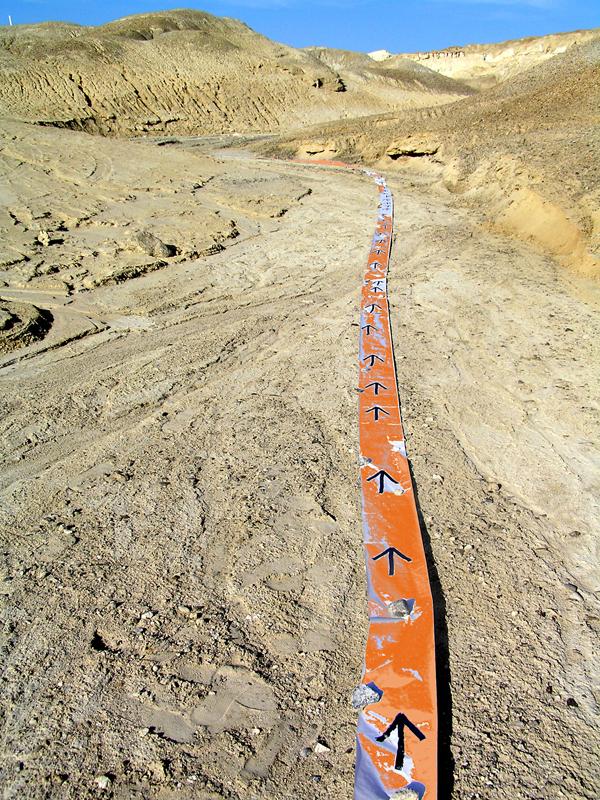 15_  Orange Strip with Arrows