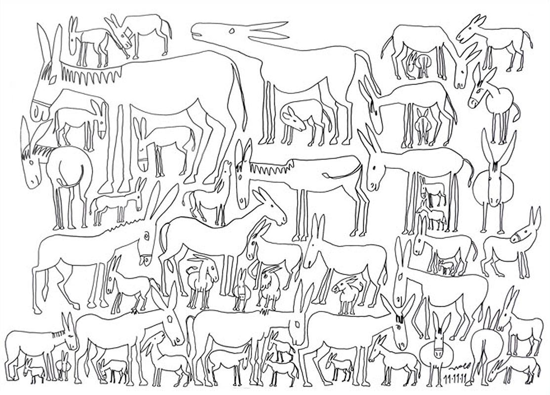 02_ Donkeys