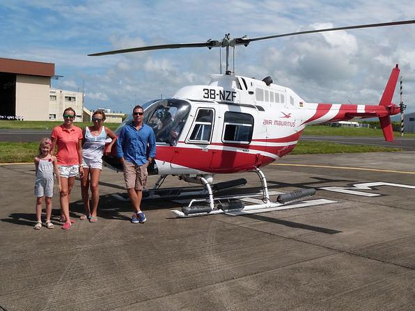 Вертолет Остров Маврикий - www.deluxe-mauritius.com