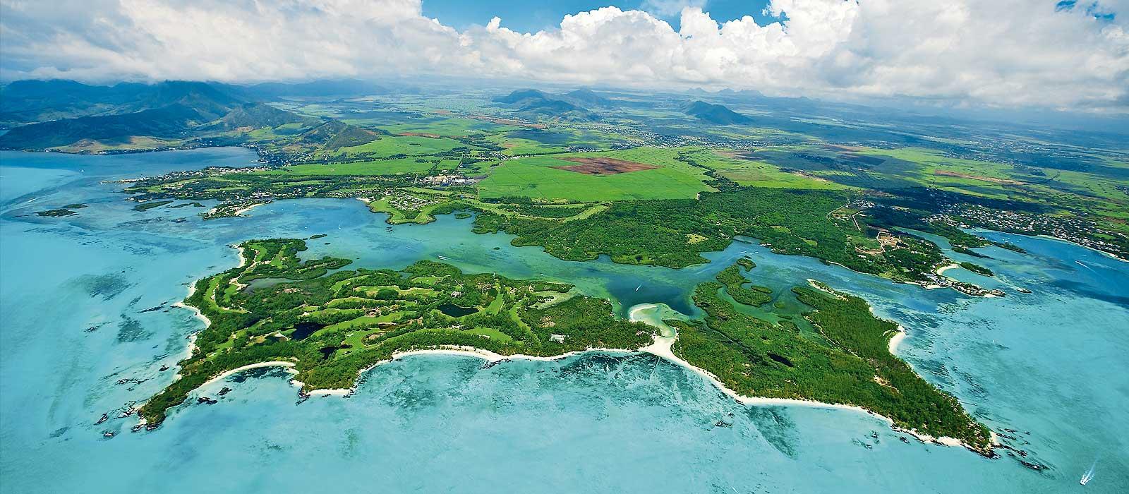 Гольф Маврикий - L'Île aux Cerfs