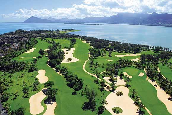 Гольф поле отель Paradis Маврикий