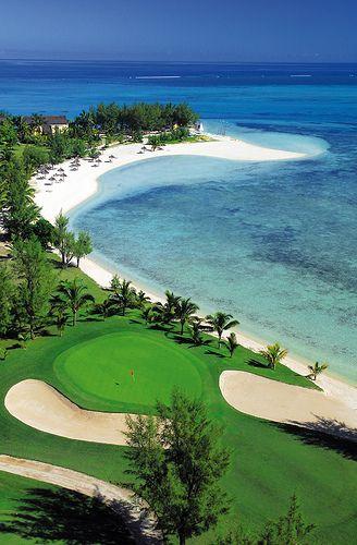 Гольф поле Paradis Маврикий