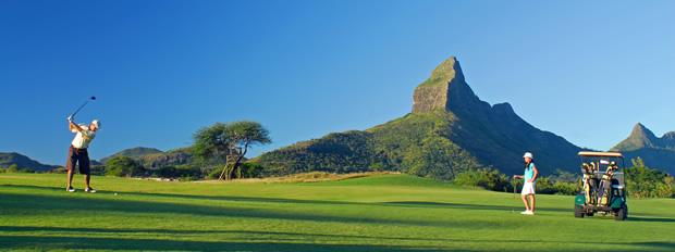 Тамарина гольф и гора Рампант