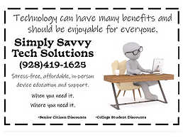 Simply Savvy Tech Solutions Ad .png
