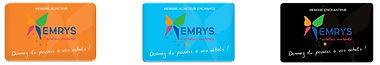La Carte EMRYS, choisissez votre abonnement Emrys et découvrez comment gagner de l'argent en faisant vos courses grâce à la coopérative Emrys