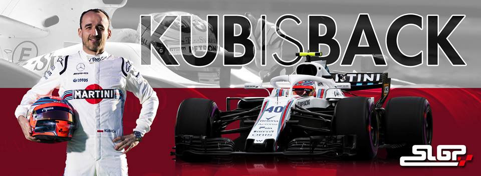 retour de kubica en formule 1 chez Williams