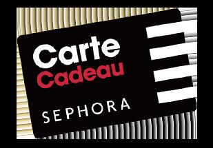 CARTE CADEAU SEPHORA