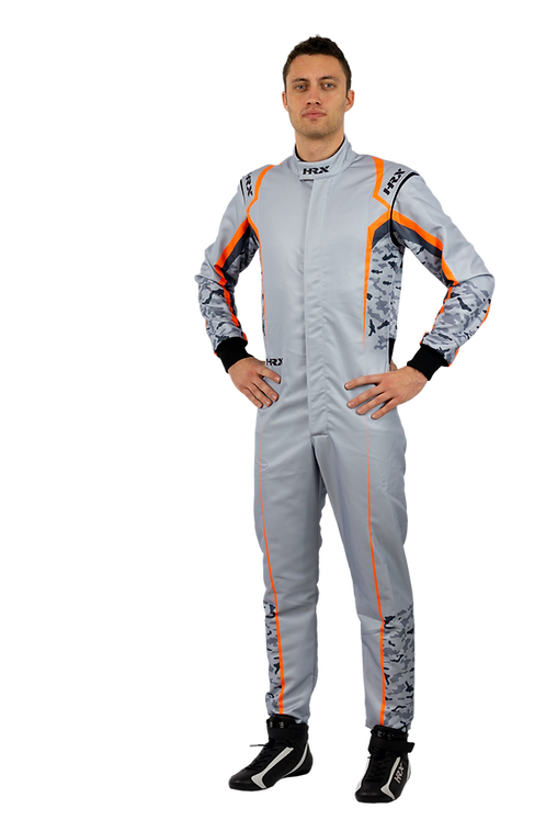 Combinaison pilote kart HRX Fuji Sublimated 1 Clair
