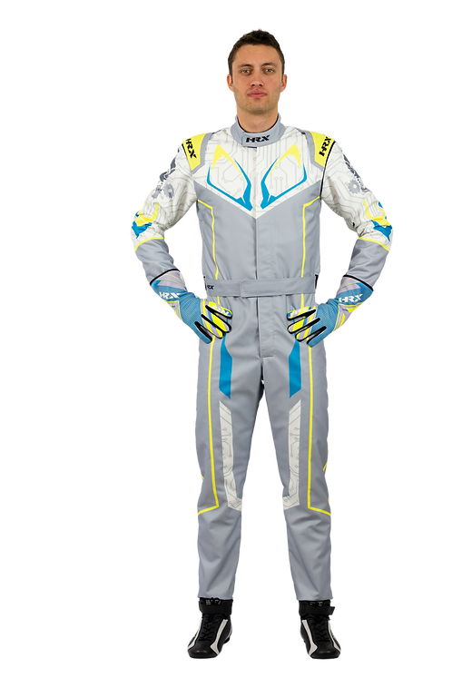 Combinaison pilote kart HRX Fuji Sublimated 2 Clair