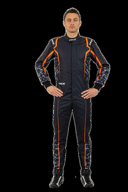 Combinaison pilote kart HRX Fuji Sublimated 1 Foncé
