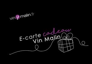 CARTE CADEAU VIN MALIN