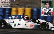 renaud malinconi la filiere elf 1996 formule renault martini mk71 le mans bugatti circuit sn diffusion xafax mc donald's speedy