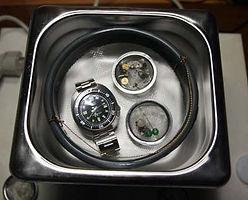 albi nettoyage ultrasons nettoyage mécanisme de montre nettoyage montre