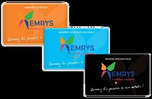 Adhérez à la coopérative EMRYS, et apprenez comment, grâce à ce bon plan, autofinancer vos courses, carburant,etc.... uniquement en changeant votre moyen de paiement en caisse. Vu sur TF1 à 7 à 8, et sur Capital sur M6. Emerys la carte