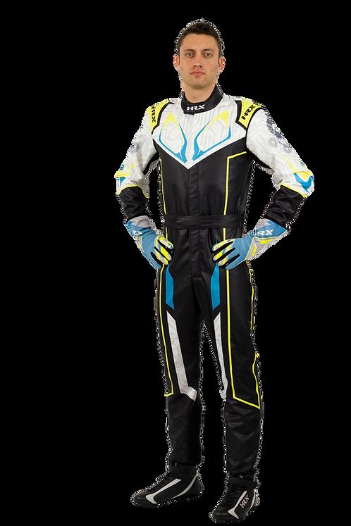 Combinaison pilote kart HRX Fuji Sublimated 2 Foncé