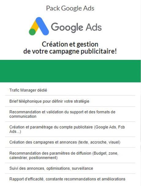 Albi Site Internet (Fizzweb) assure la gestion et le management de vos campagnes de publicité Google ADS pour les entreprises, TPE, PME, associations, dans le Tarn, Albi, Gaillac, Carmaux, en Occitanie