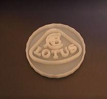 logo lotus impresion 3d, impression 3d albi tarn, service d'impression 3d albi tarn, impression 3d en ligne albi tarn, impression de pièces en 3d albi tarn