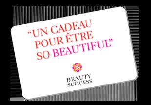 CARTE CADEAU BEAUTY SUCCESS